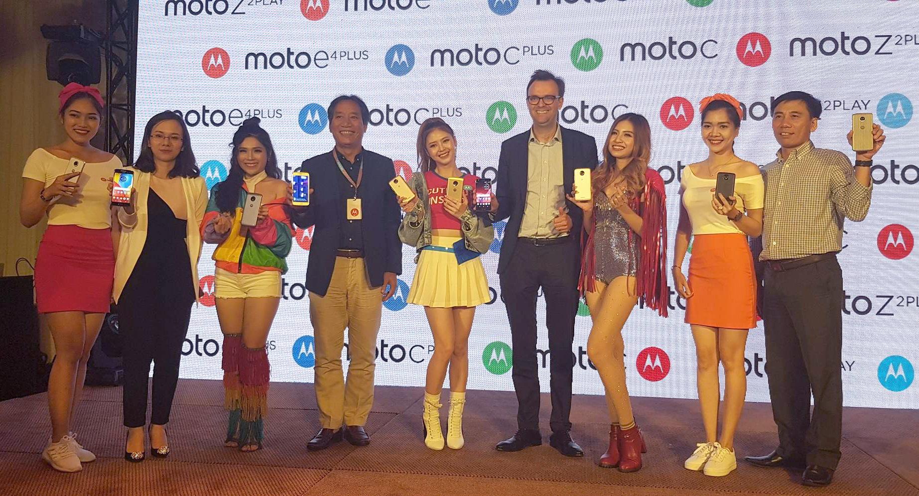 Motorola trình làng loạt smartphone mới, giá từ 1,9 triệu đồng - 1