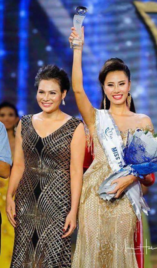 Hoa hậu Thanh Vân khen tân Hoa hậu Asean ứng xử xuất sắc - 4