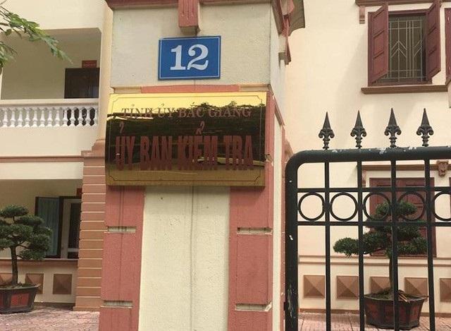UBKD tỉnh ủy Bắc Giang chuẩn bị công bố hình thức kỷ luật cán bộ sai phạm tại huyện Lục Ngạn.
