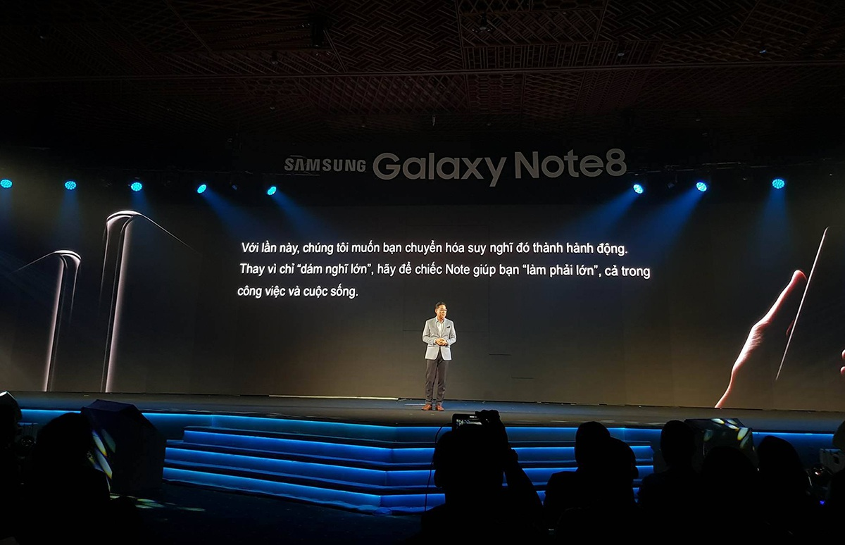 Galaxy Note8 chính thức ra mắt tại Việt Nam, giá 22,5 triệu đồng - 1