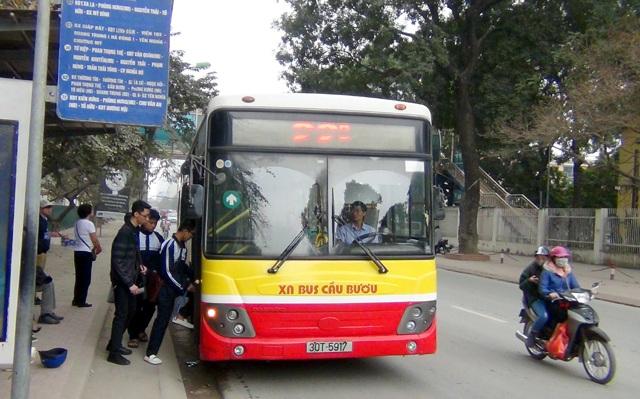Tuyến xe buýt 22 thành 3 tuyến kết nối, trung chuyển với tuyến BRT