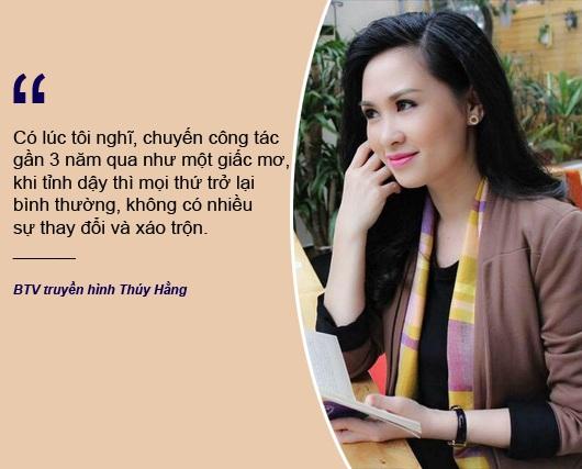 """Xem thêm: BTV Thuý Hằng: """"Nếu chồng không thông cảm, tôi khó lòng đến được với nghề báo"""""""