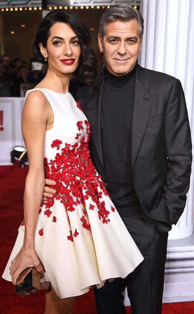 """""""Gã đào hoa tóc bạc"""" George Clooney làm cha ở tuổi 56"""