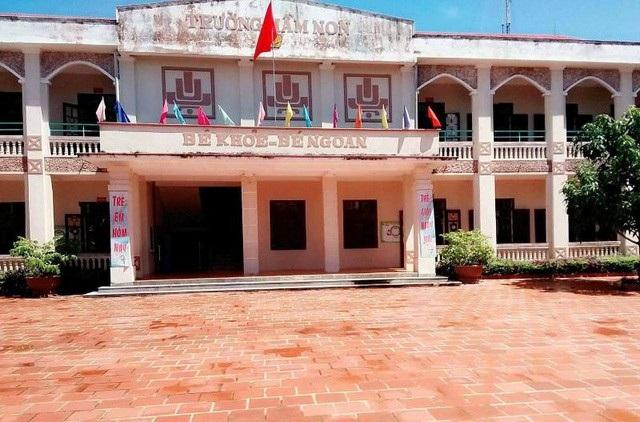 Trường Mầm non xã Quảng Thái, huyện Quảng Xương