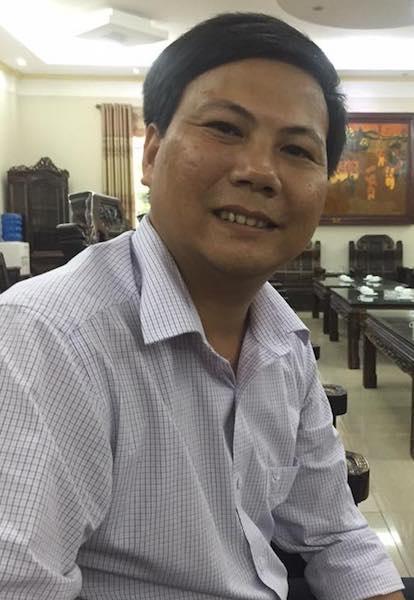 Thầy giáo Lương Đình Giáp được xác nhận là giáo viên cốt cán, tức là chuyên gia về toán của ngành giáo dục tỉnh Bắc Giang.