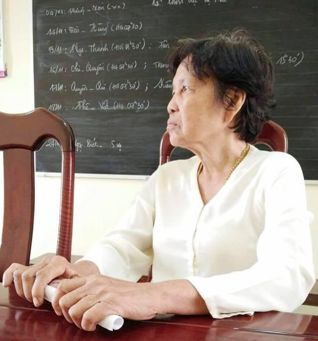 Bà Lê Hồng Thấm đã hơn 20 năm đi đòi lại quyền lợi của mình, nhưng đến nay vụ việc vẫn chưa được các ngành chức năng của huyện Thới Bình và tỉnh Cà Mau giải quyết thỏa đáng.