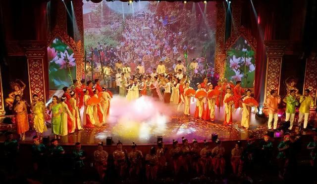 Một số tiết mục bế mạc Ngày hội văn hóa, thể thao và du lịch Khmer Nam Bộ lần thứ VII tại Bạc Liêu.