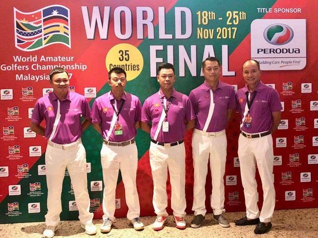 5 golf thủ tham gia bảng thi đấu chính thức của tuyển Việt Nam