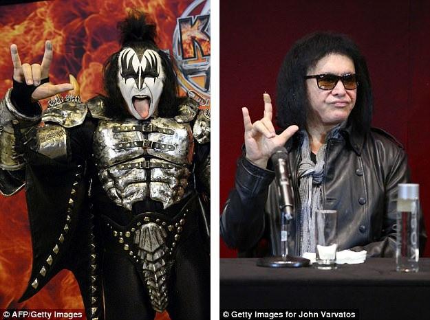"""Gene Simmons - thành viên của nhóm rock Kiss - đã vừa đệ đơn đăng ký bản quyền đối với động tác tay trứ danh của các tín đồ rock. Theo Simmons, ông chính là người đầu tiên sử dụng động tác tay này vào ngày 14/11/1974 trong tour lưu diễn """"Hotter Than Hell"""" của nhóm."""