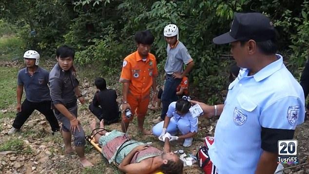 Đội cứu hộ phải mất tới hai tiếng mới có thể đưa Paul ra khỏi rừng và tới bệnh viện gần nhất.