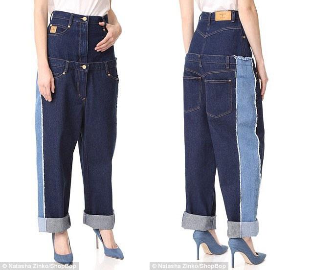 Hiện tại, mẫu quần jeans này đã cháy hàng tại thị trường thời trang Anh. Thời trang denim hiện là địa hạt thời trang ứng dụng thu hút nhiều sự sáng tạo mang nét dị biệt của các nhà thiết kế.