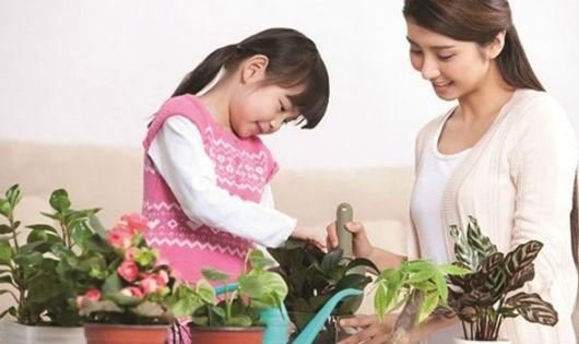 Giao trẻ việc nhà để rèn kỹ năng sống - 1
