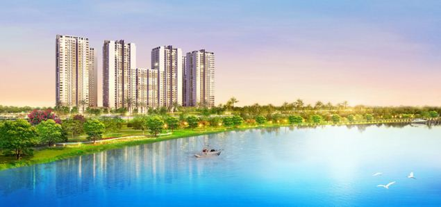 Phú Mỹ Hưng sắp sửa mở bán tòa nhà cuối cùng của dự án Saigon South Residences