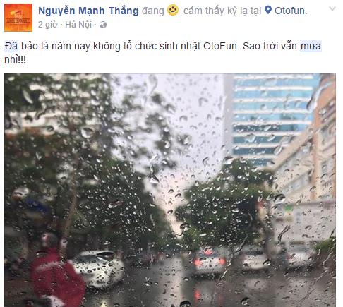 Bất cứ ai cũng chờ mong những cơn mưa như thế này.