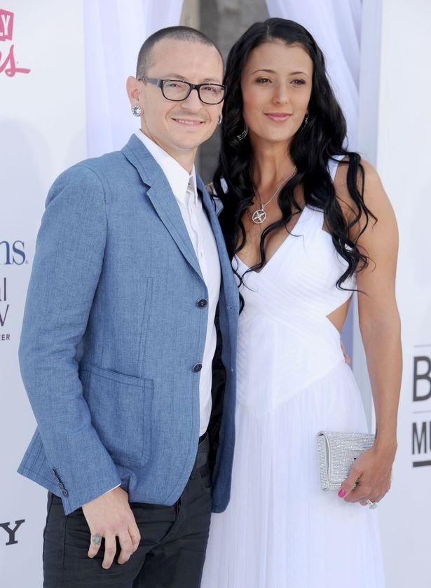 Chester Bennington và vợ