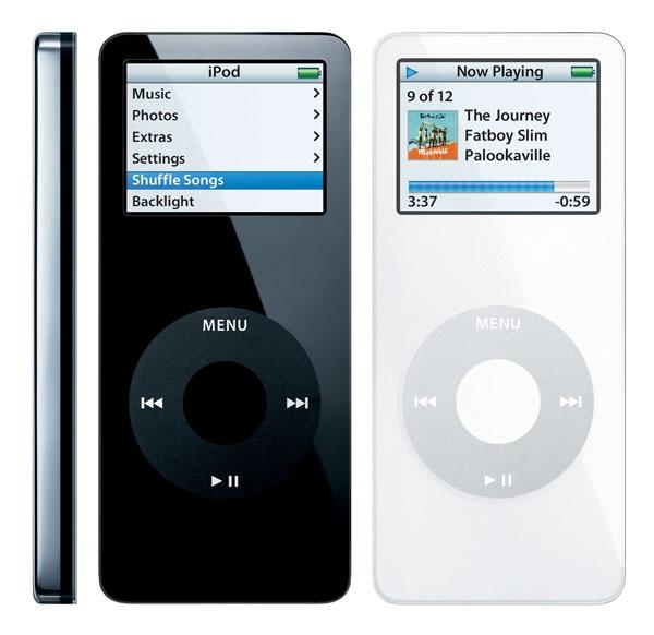 Những hình ảnh quen thuộc gắn liền với người dùng công nghệ giai đoạn cuối 8X, đầu 9X của iPod Nano