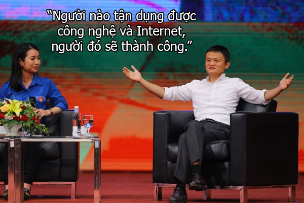 Những câu nói truyền cảm hứng của Jack Ma với sinh viên Việt Nam - 9