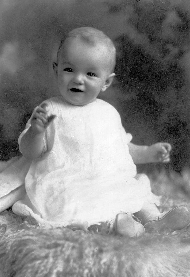 Marilyn thuở nhỏ