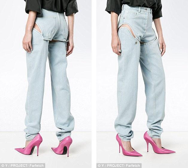 "Mẫu quần ""độc, lạ"" này không hề rẻ, giá một chiếc tương đương với 10,5 triệu đồng."
