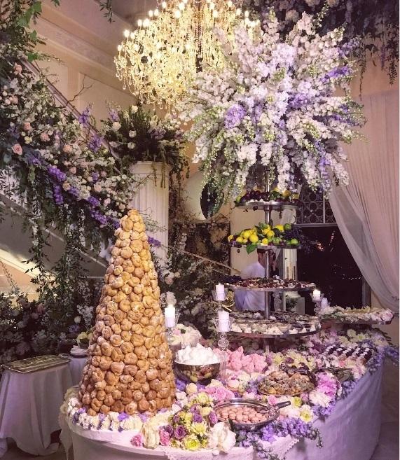 Phòng tiệc dành cho món tráng miệng