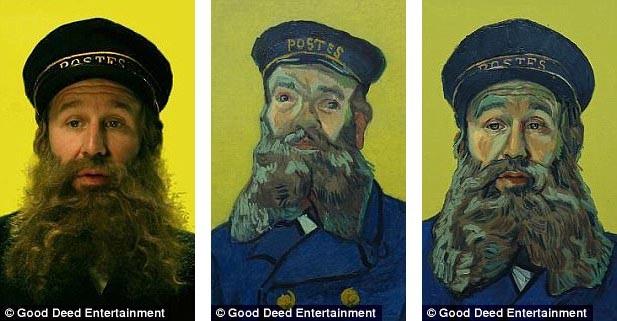 65.000 bức tranh sơn dầu đã được thực hiện. Chuyện phim sử dụng chính những nhân vật từng xuất hiện trong tranh Van Gogh, những nhân vật này sẽ do diễn viên người thật đóng. Họ sẽ diễn xuất trong các đoạn clip, các họa sĩ sẽ dựa trên các clip này để chuyển thành tranh.
