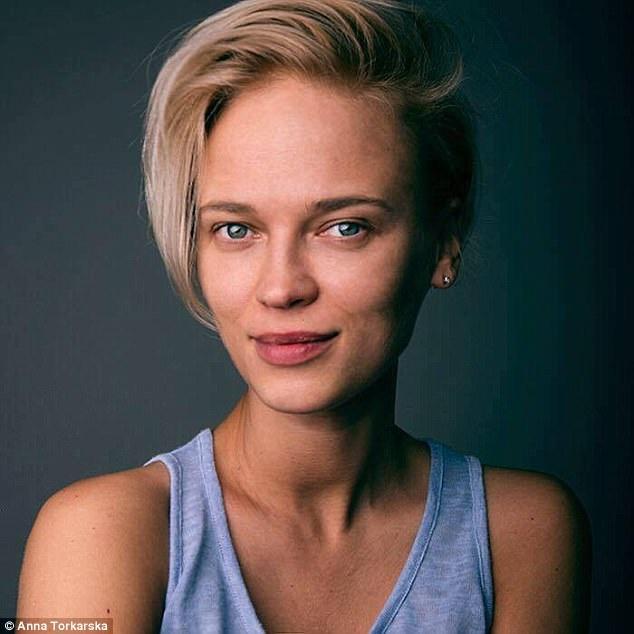 Chân dung nghệ sĩ Anna Tokarska, trước đây, chị vốn là một người mẫu, sau trở thành nhiếp ảnh gia kiêm nghệ sĩ tạo hình.