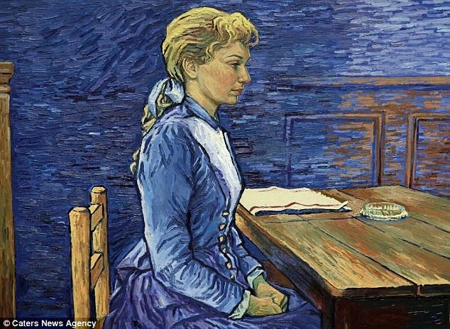 Một bức tranh của Van Gogh khắc họa cô gái có tên Adeline Ravoux cũng xuất hiện trong trailer. Trong phim, nhân vật Adeline Ravoux được đảm nhận bởi nữ diễn viên Eleanor Tomlinson. Các phân cảnh diễn xuất của diễn viên người thật sẽ giúp truyền cảm hứng cho các bức tranh thêm sống động và chân thực.