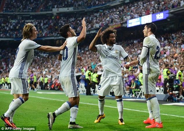 Real Madrid đã đứt mạch 40 trận bất bại, sau trận thua Sevilla ở vòng 18 La Liga