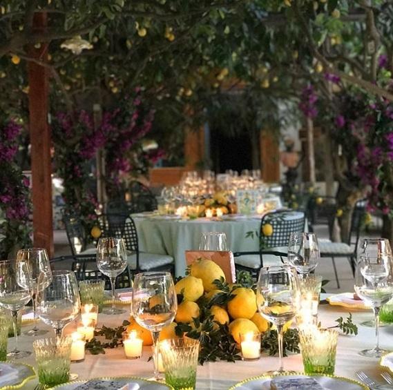 Tiệc đón khách trước hôn lễ