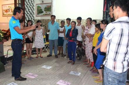 Khảo sát về làm thêm giờ tại một xóm trọ công nhân ở huyện Trảng Bom, Đồng Nai.