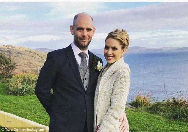 Tara Conner và bạn trai hiện tại - nam diễn viên Dan Sanders-Joyce.