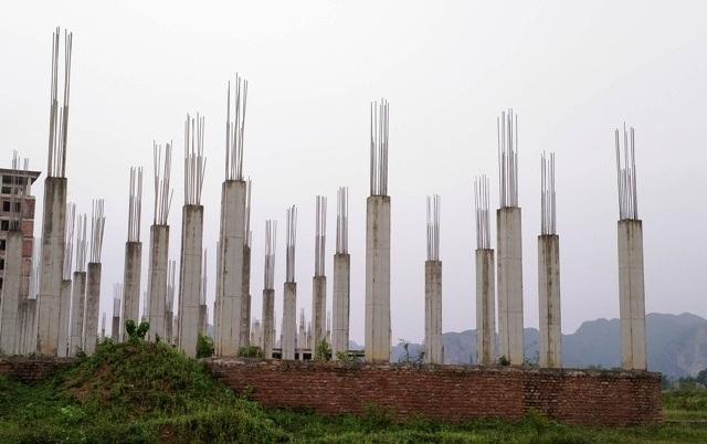 Chưa biết đến bao giờ, dự án trường ĐH Hoa Lư mới hoàn thành và đưa vào sử dụng.