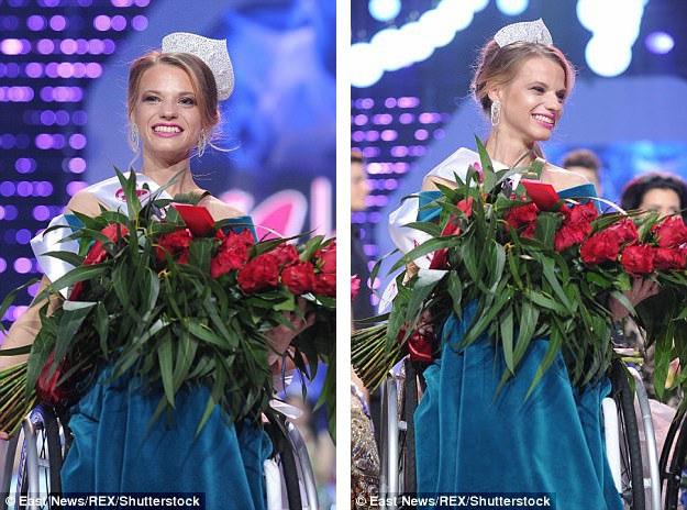 Aleksandra Chichikova là Hoa hậu Xe lăn Thế giới đầu tiên.