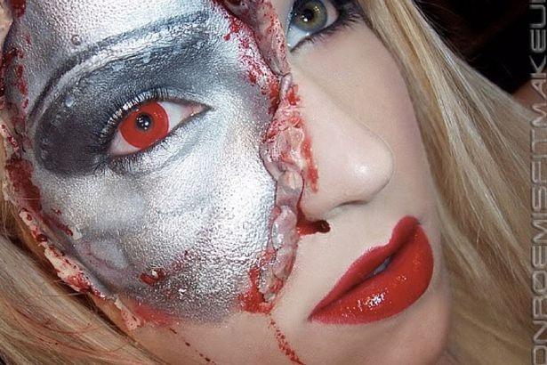 Những ý tưởng trang điểm kinh dị cho ngày lễ Halloween - 7
