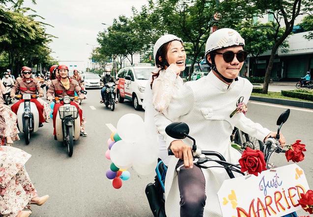"""Sốt clip cưới """"60 năm cuộc đời"""" của cặp vũ công Sài Gòn - 1"""