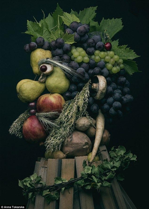 Nghệ sĩ trẻ Anna Tokarska hiện đang được biết đến với những tác phẩm vừa chân thực vừa lạ lùng như thế này.