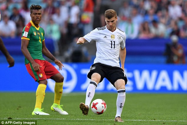 Đức chính thức giành ngôi đầu bảng B Confederations Cup 2017 và sẽ gặp Mexico ở bán kết