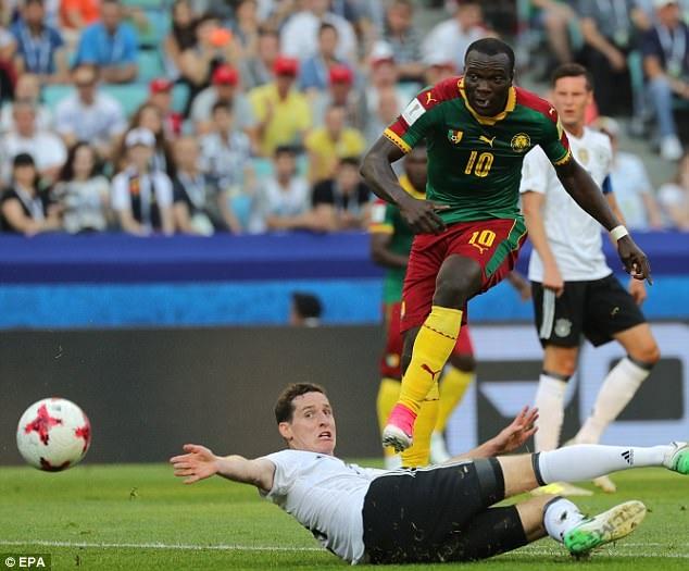 Cameroon bị loại với vị trí cuối bảng