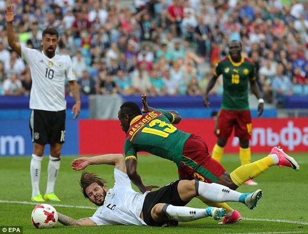 Cameroon đã chơi tốt, nhưng không thể lật ngược thế cờ