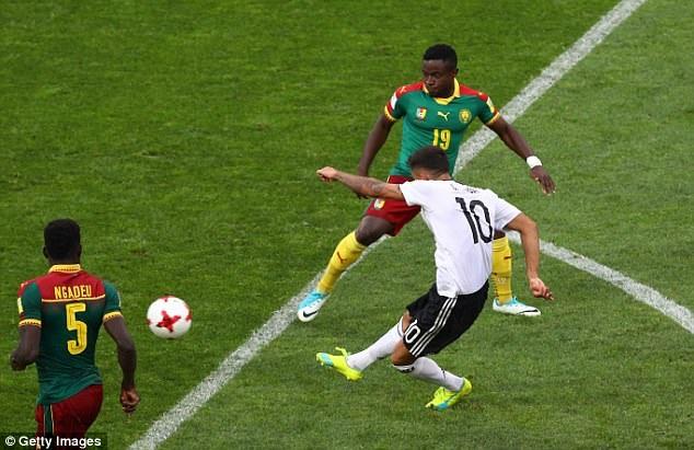 Đức đã chơi ấn tượng ở hiệp 2, sau khi khá bế tắc ở hiệp 1