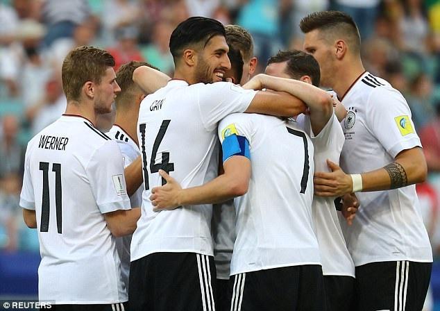 Đức vẫn đang thành công với dàn cầu thủ trẻ
