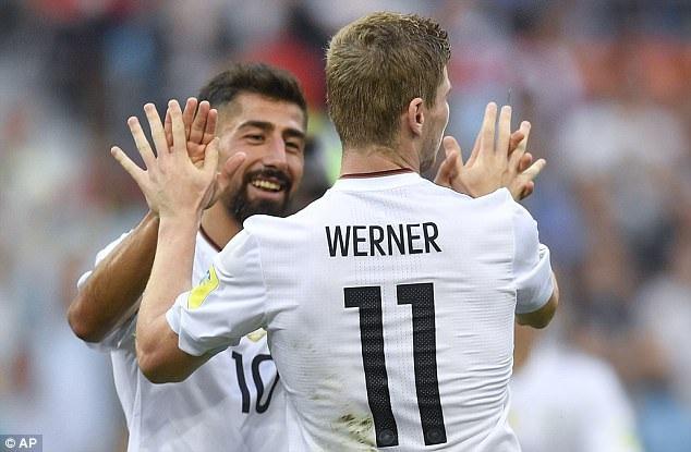 Werner tỏa sáng trong chiến thắng trước Cameroon