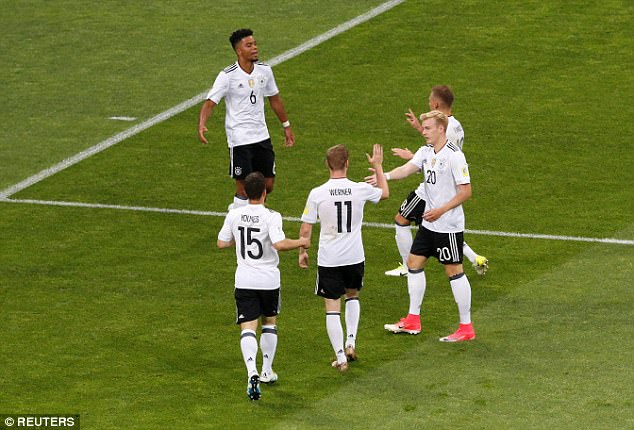 Người Đức đã thể hiện được đẳng cấp vượt trội