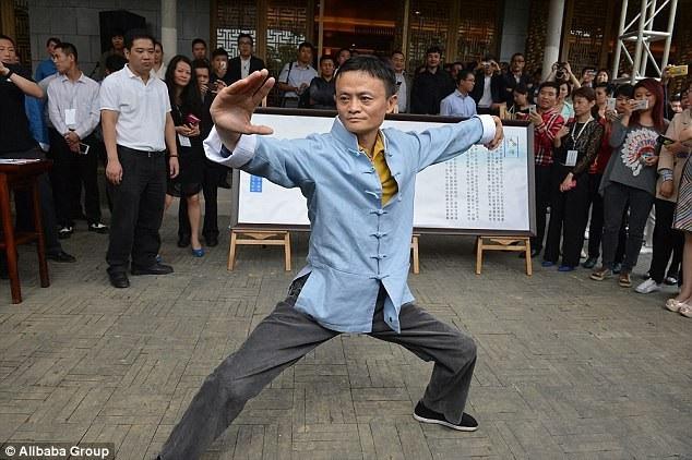 Jack Ma vốn đam mê môn võ Thái Cực Quyền và đã luyện tập hơn 30 năm.