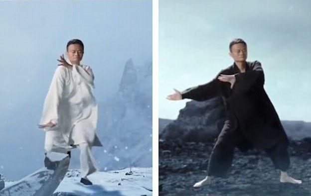 Võ sư Ma tiếp tục thực hiện các động tác Thái Cực Quyền trong 5 phút cuối phim sau khi đánh thắng các đối thủ.