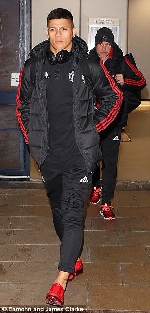 Hậu vệ Rojo đã trở lại thi đấu sau quãng thời gian dài nghỉ dưỡng thương