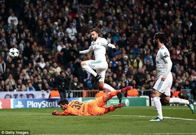 Mayoral mở tỷ số cho Real Madrid từ khá sớm
