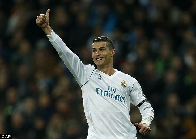 C.Ronaldo ghi bàn trong cả 6 trận đấu ở vòng bảng Champions League năm nay