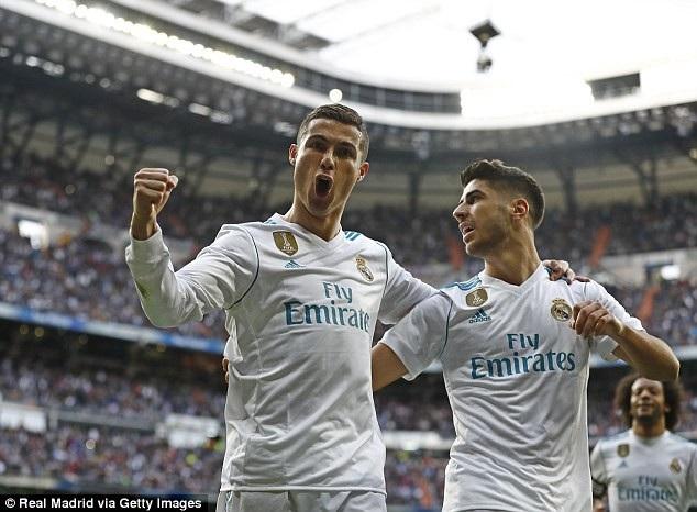 C.Ronaldo tỏa sáng vào lưới Seviilla...