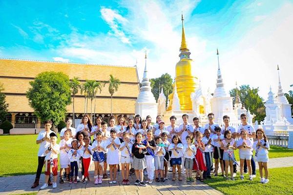 """Các thí sinh lọt vào chung kết cuộc thi """"Hoàng tử và công chúa quốc tế"""" tại Thái Lan"""